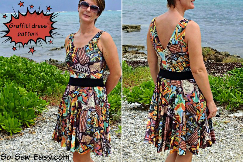 FREE Dress Pattern - sewing pattern