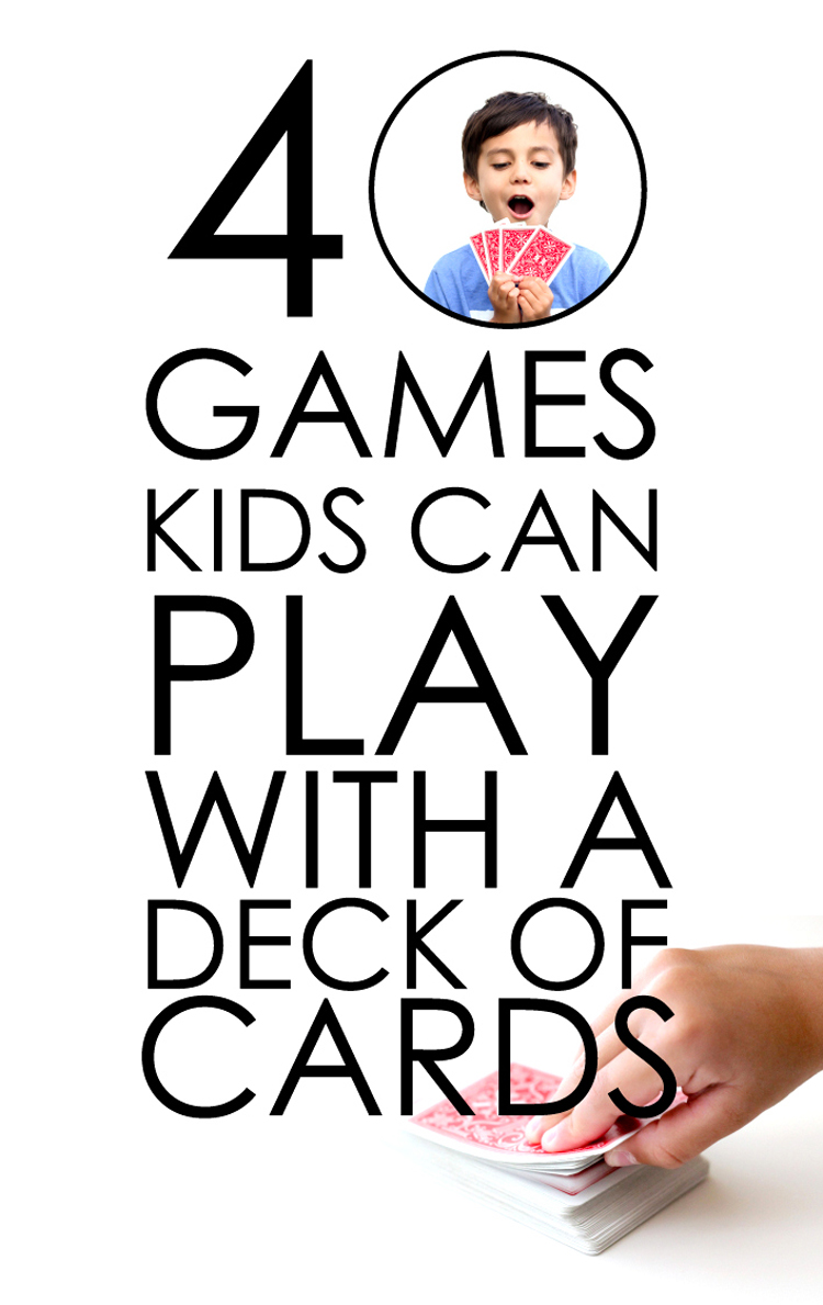 40 games to play with a deck of cards