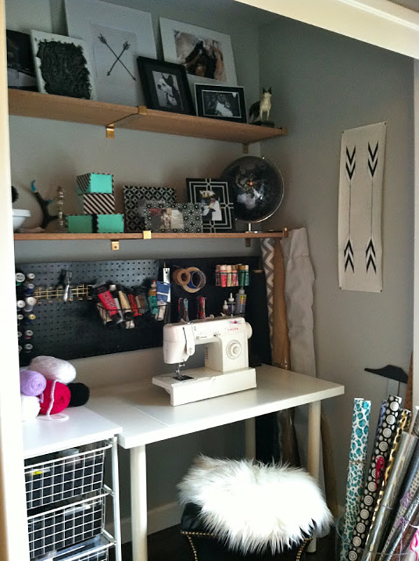 Inspiring Sewing Closets