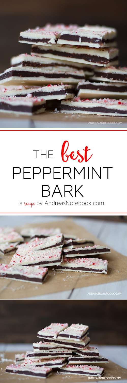 The BEST Peppermint Bark Recipe -