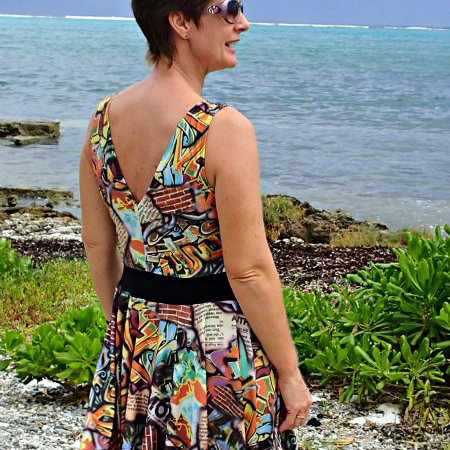 FREE sewing pattern! Women's dress free sewing pattern