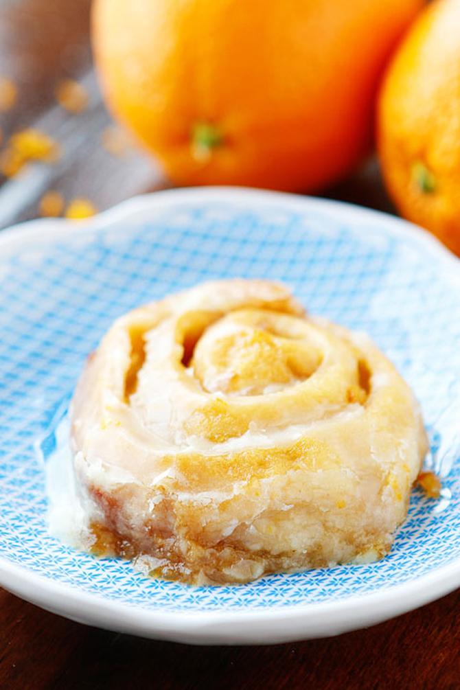 Crock-Pot Orange Sweet Rolls Recipe