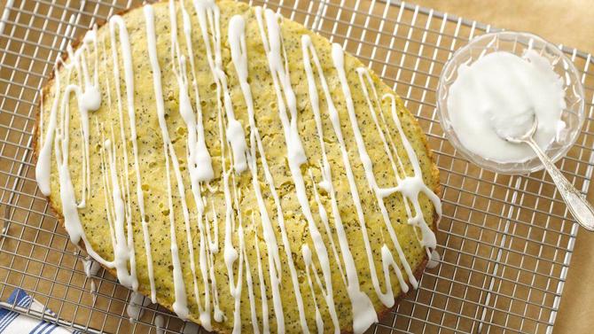 Slow Cooker Lemon Cornmeal Poppy Seed Bread Recipe