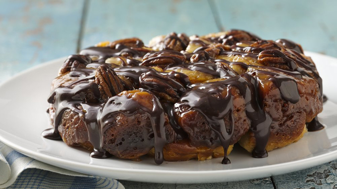 Slow Cooker Turtle Monkey Bread Recipe