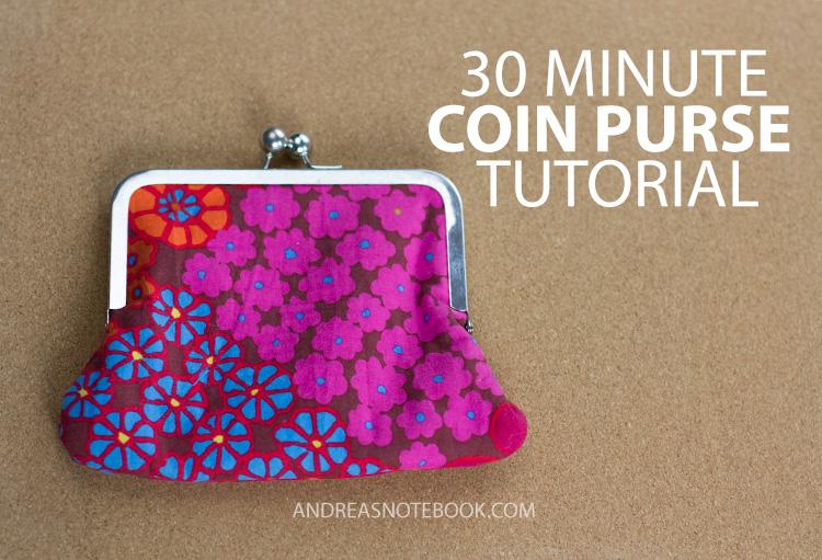 Purse tutorial sewing ~ diy tutorial ideas!
