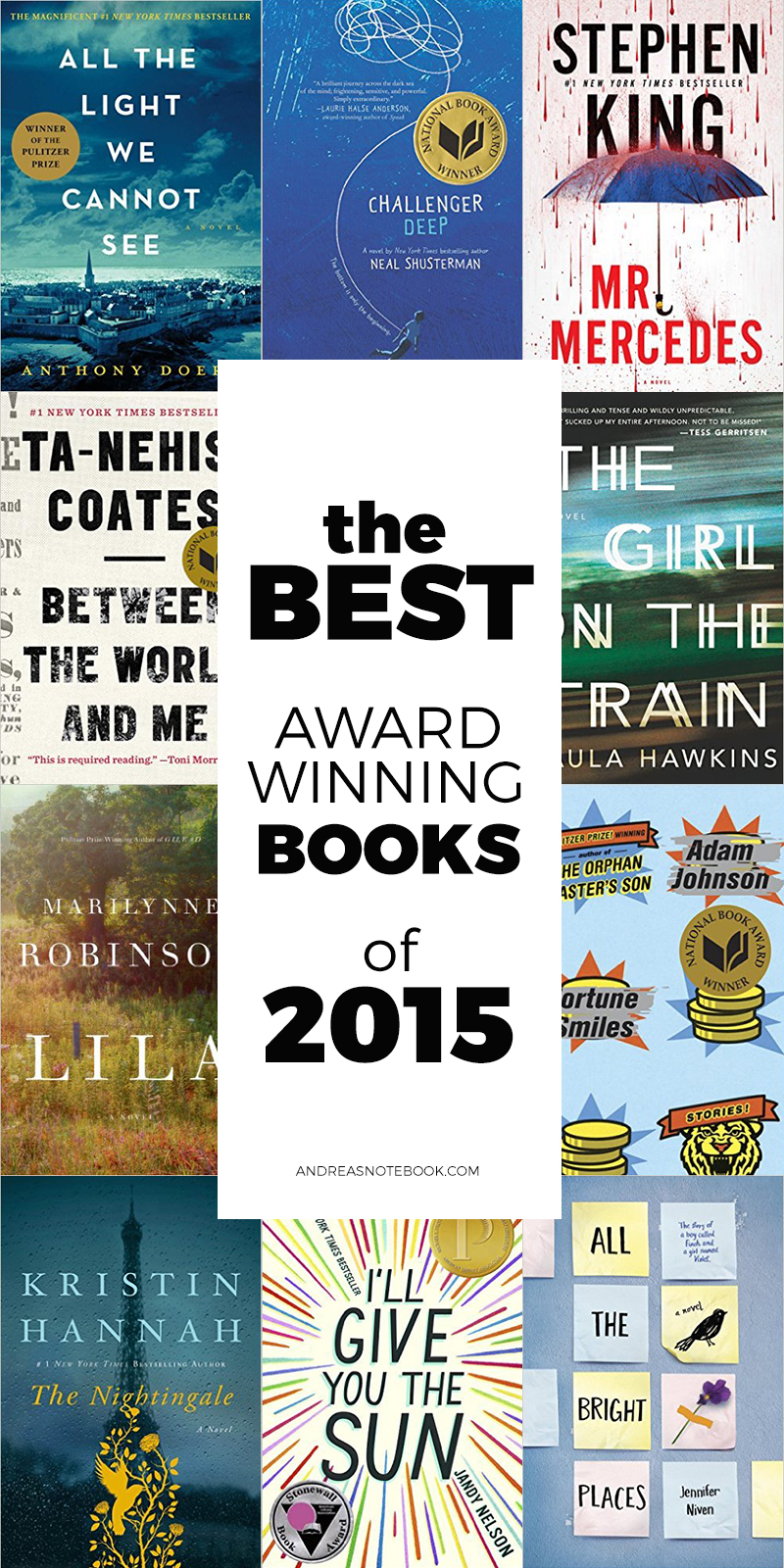 Award Winning Books of 2015