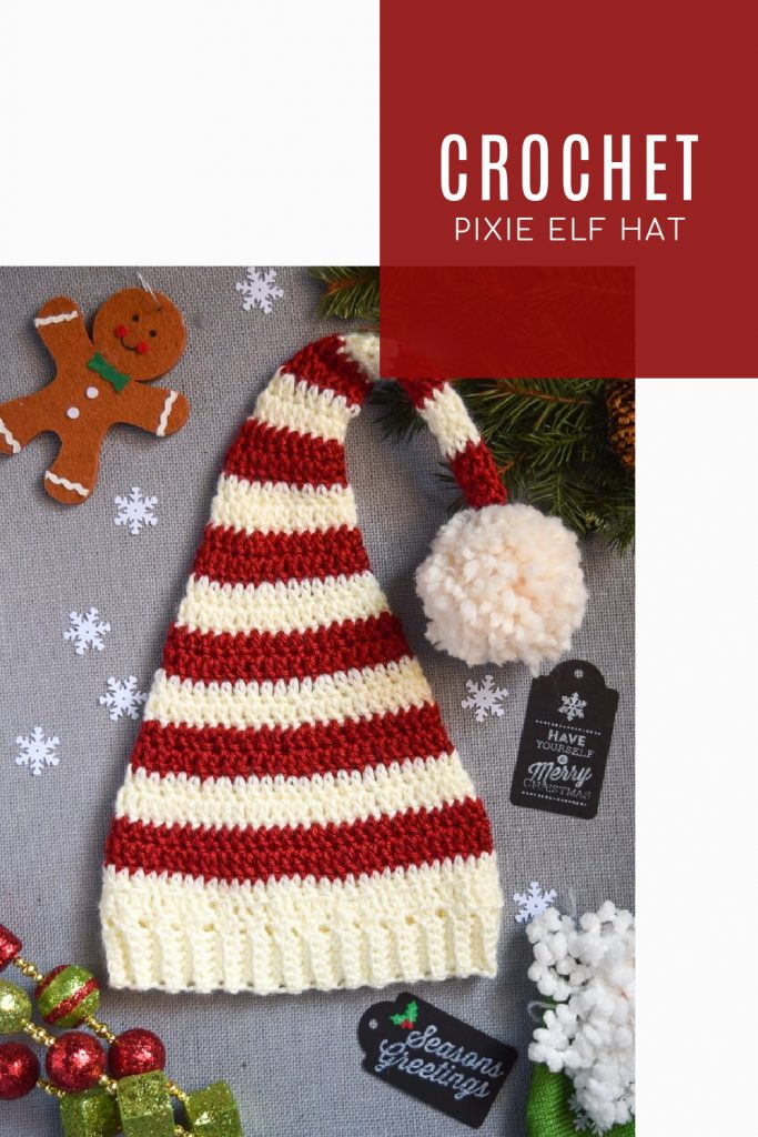 FREE Pixie Elf Hat Crochet Pattern and Tutorial