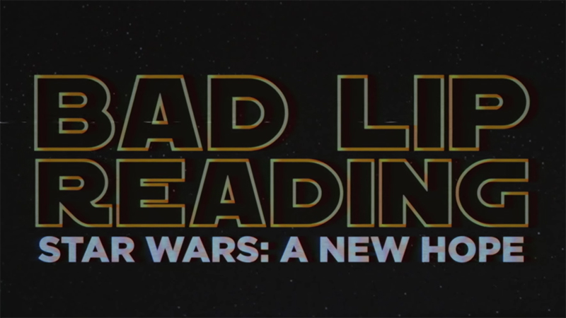 Star Wars Bad Lip Reading - laugh until you cry, funny!