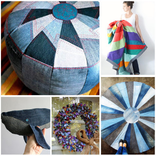 10 Modern(ish) Denim Upcycle Ideas