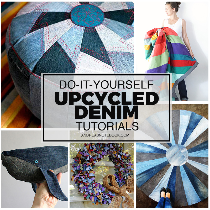 10 Modern Ish Denim Upcycle Ideas