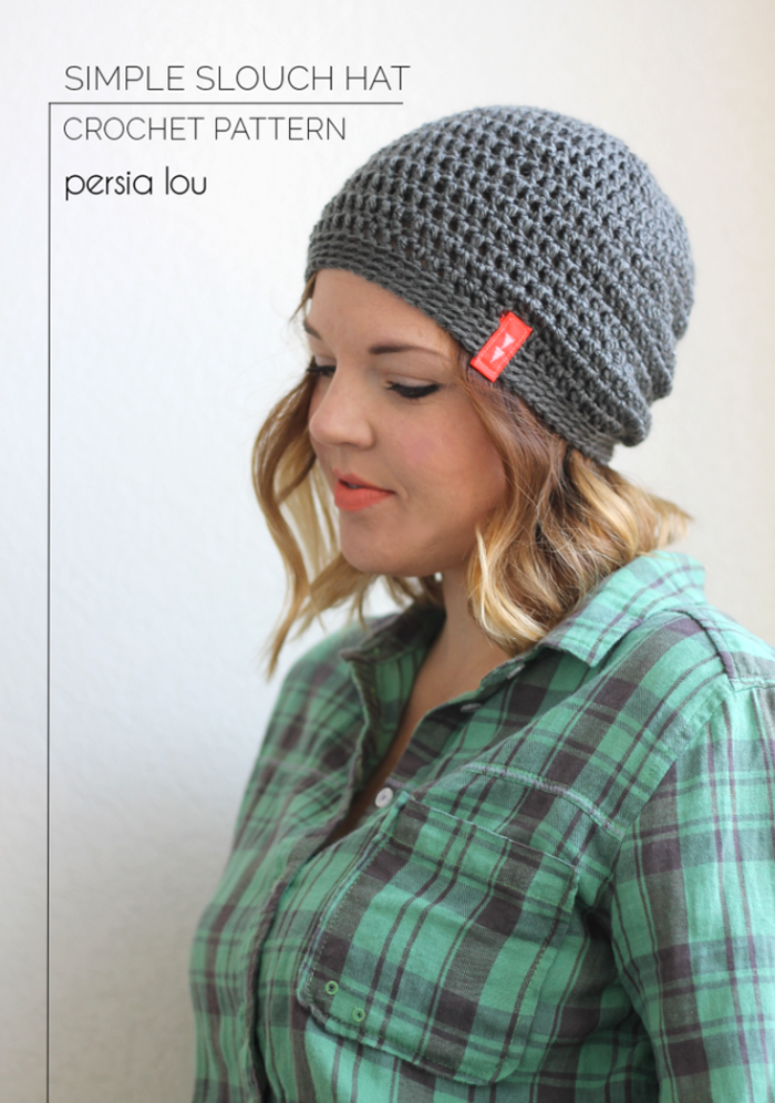 14415367817 Free Crochet Hat Pattern by Persia Lou
