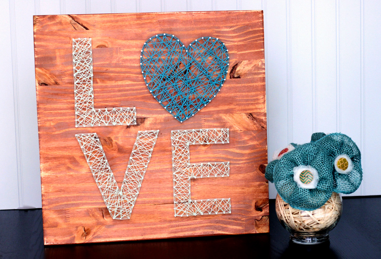 HOW TO MAKE Love String Art