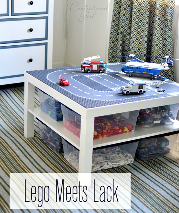 DIY Lego Table Tutorial