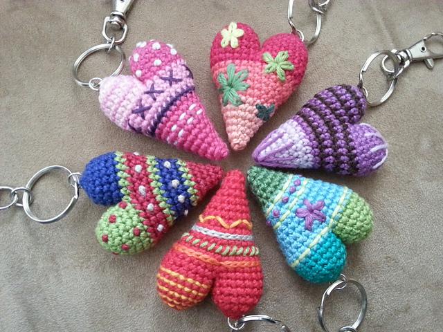 crochet hearts tutorial