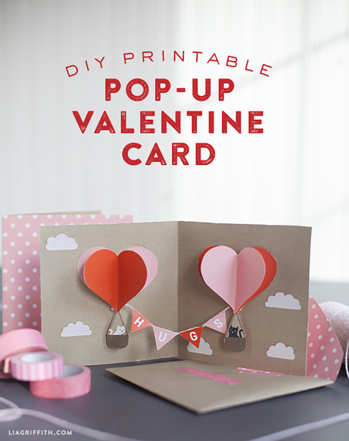 Pop-Up Valentine's Day Card Tutorial