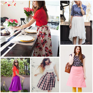21 DIY Skirt Sewing Tutorials For Women