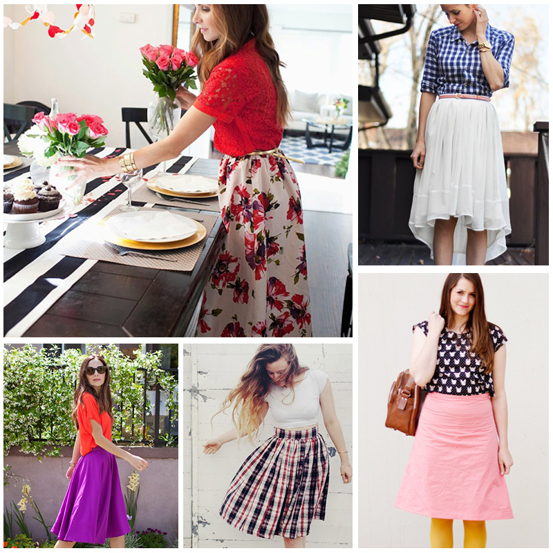 21 Skirt Tutorials