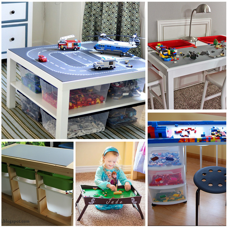 Diy Lego Tables Kids Love