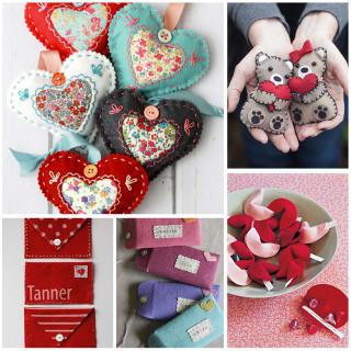 DIY Felt Valentines