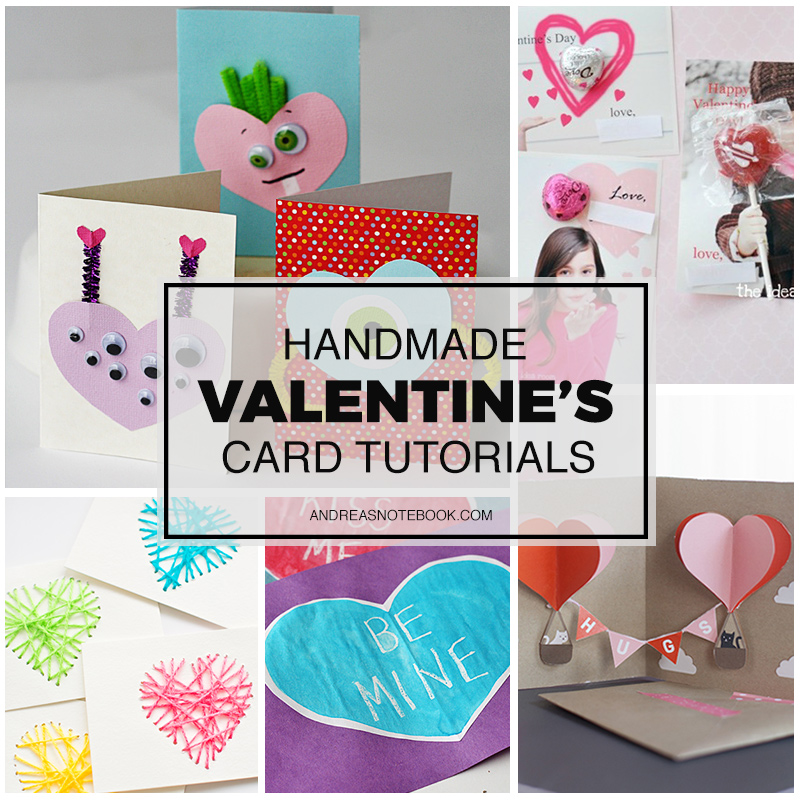 Make Your Own Valentines Day Cards – Homemade Valentine Day Cards