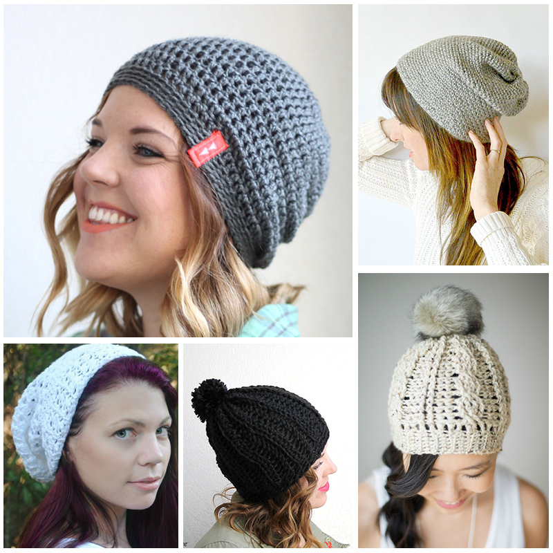Free Modern Crochet Hat Patterns