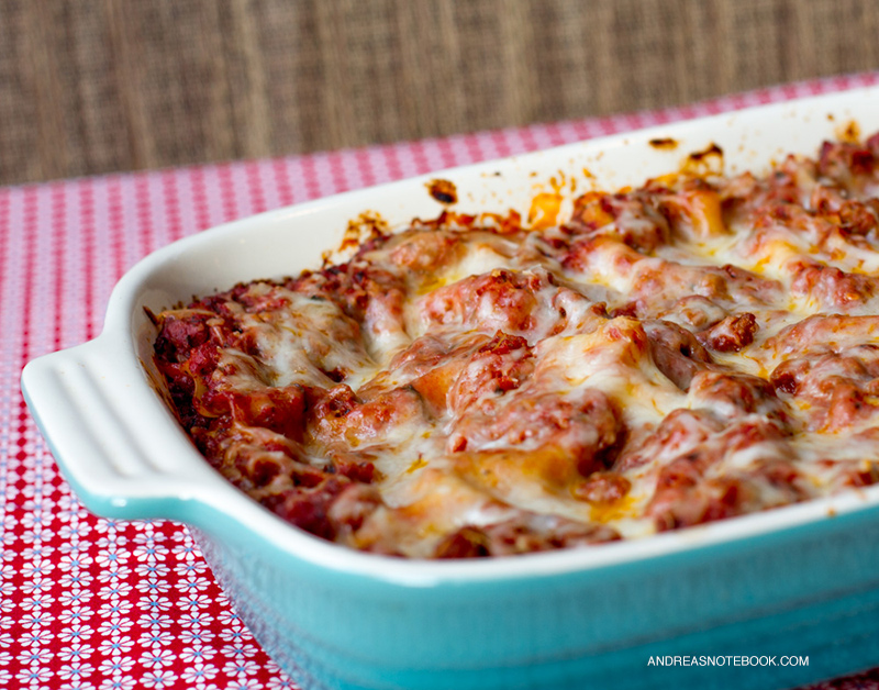 the BEST lasagna recipe!