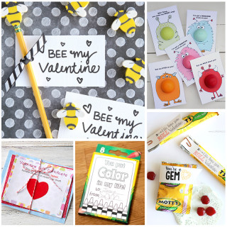 Adorable Printable Valentine's Cards