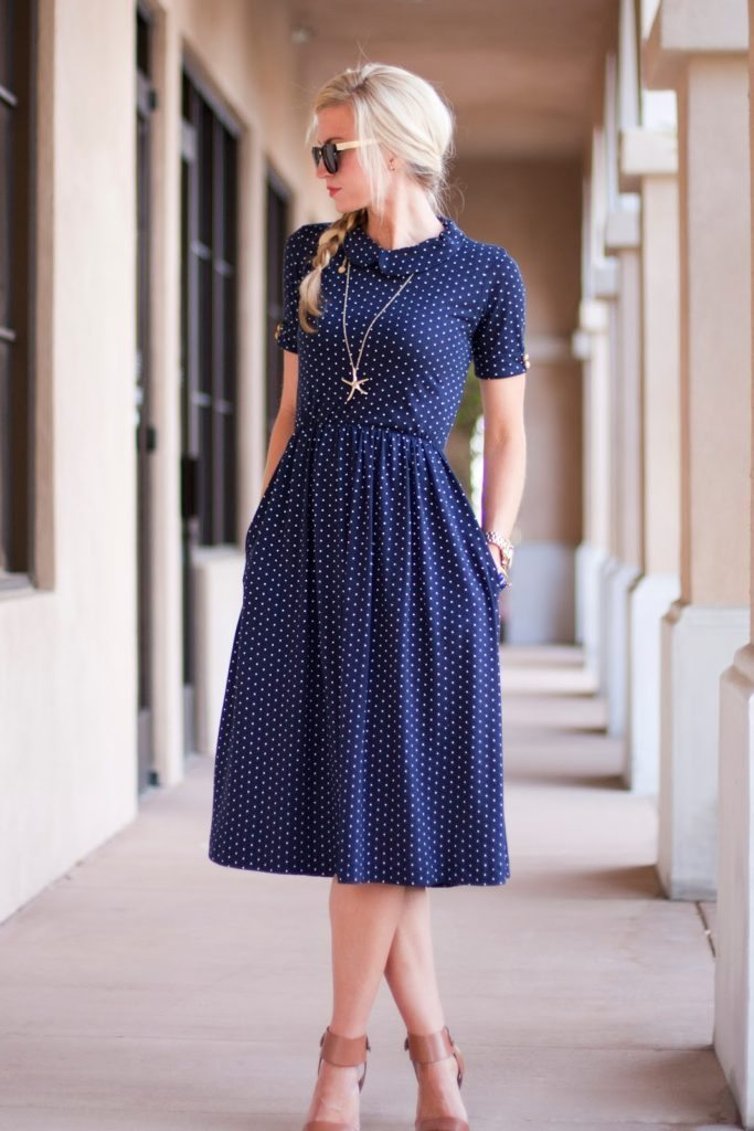 Day Date Dress photo and tutorial by Elle Apparel Blog
