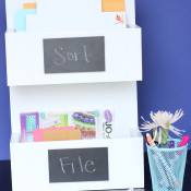 DIY Mail Sorter