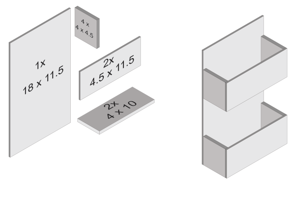 Mail Sorter Dimensions