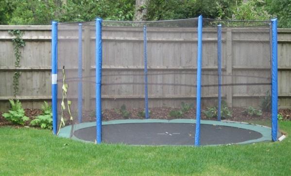 Put your trampoline in ground!