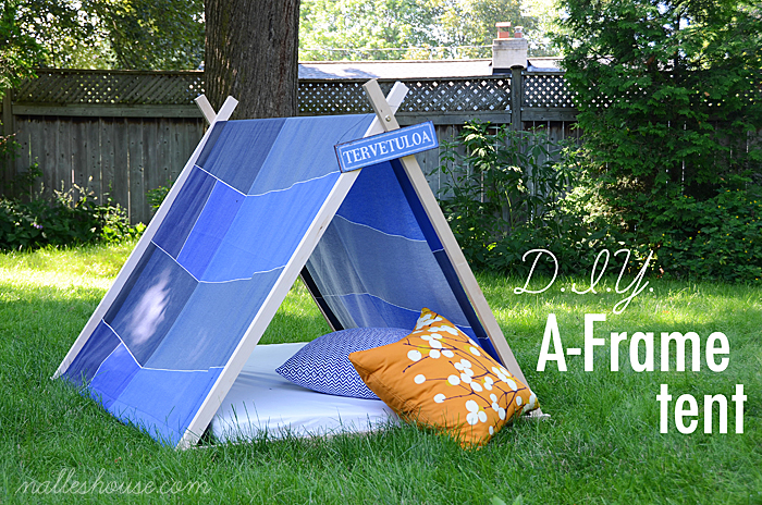 make a portable tent!