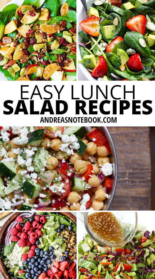 Easy lunch salad recipes
