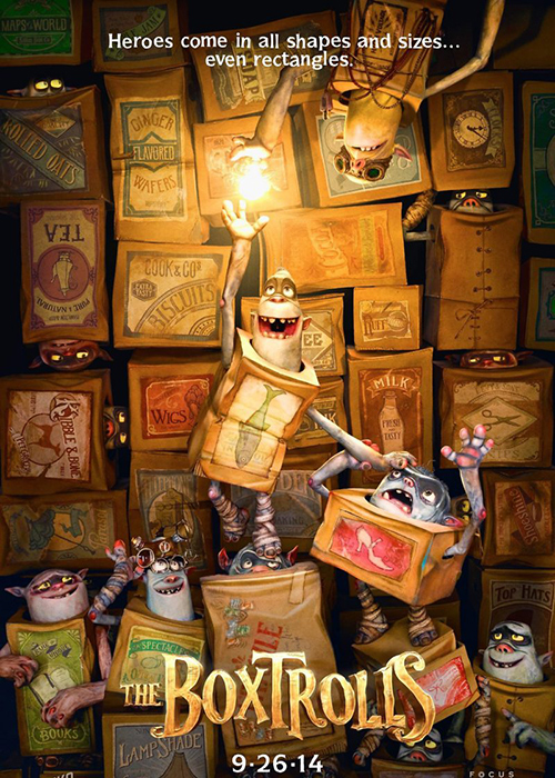 The Boxtrolls - Netflix for families