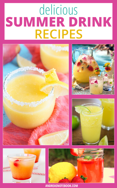 Delicious Summer Drink Recipes - Non-Alcoholic