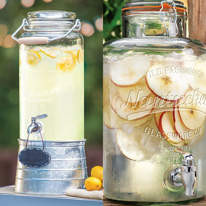 LOVE these drink dispensers!
