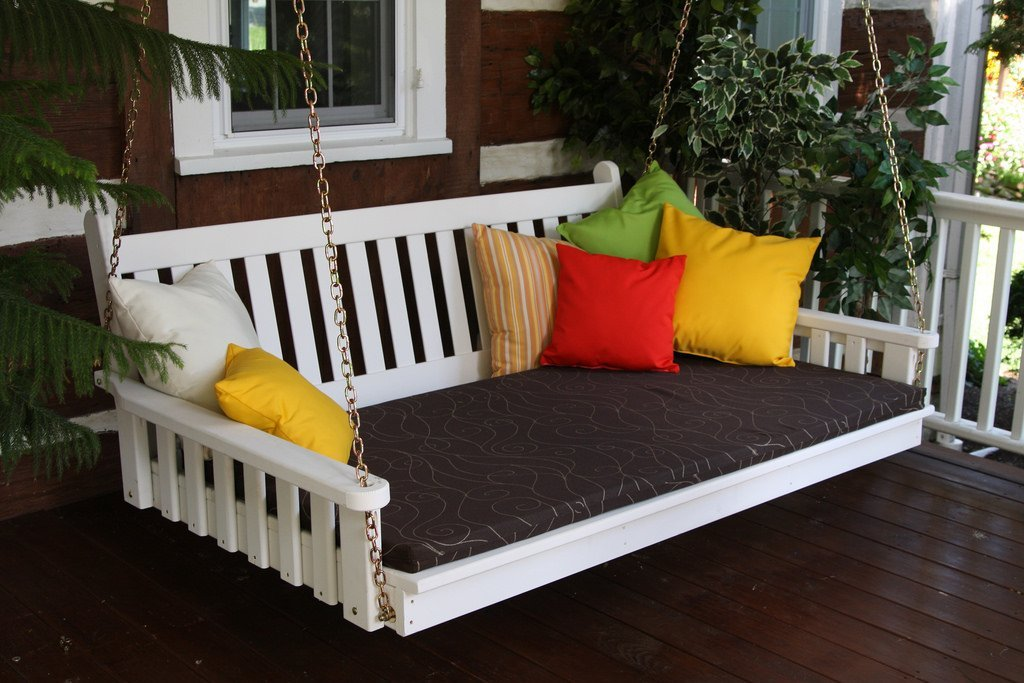 Amish Made Porch Swing Bed