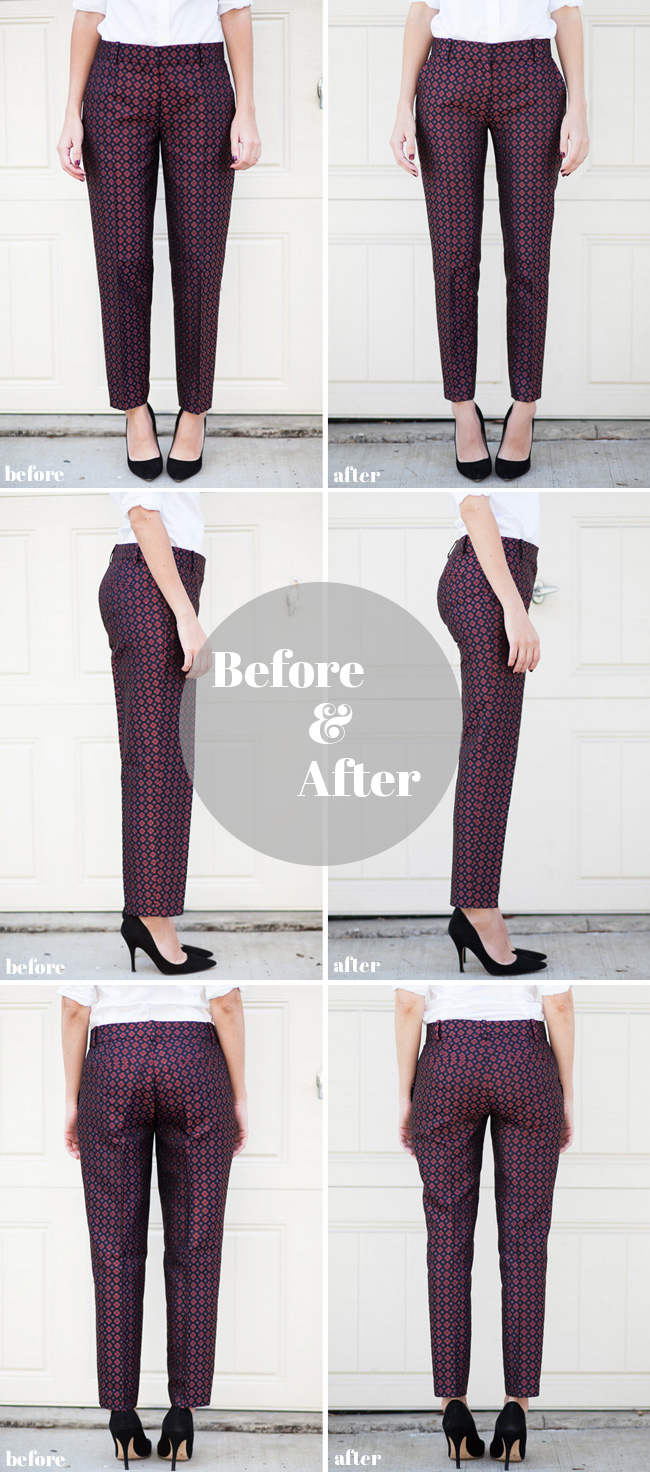 amazing pants refashion