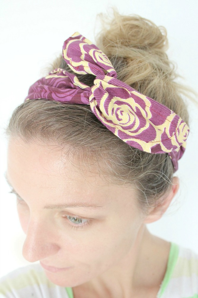 DIY wire headband tutorial