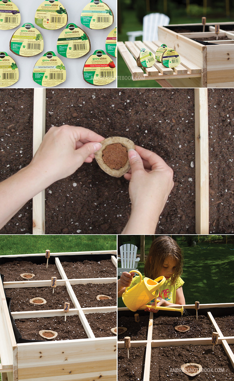 Easiest way to make a garden!