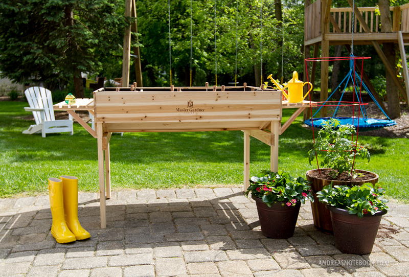 I love this raised bed garden!