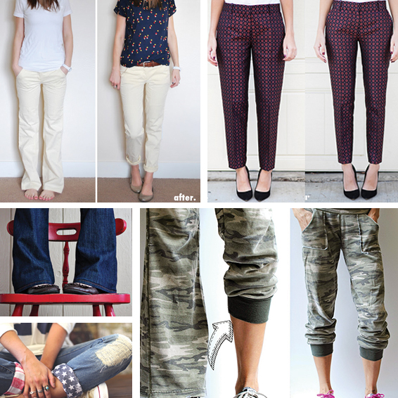 Update And Refashion Pants Tutorials You Ll Love