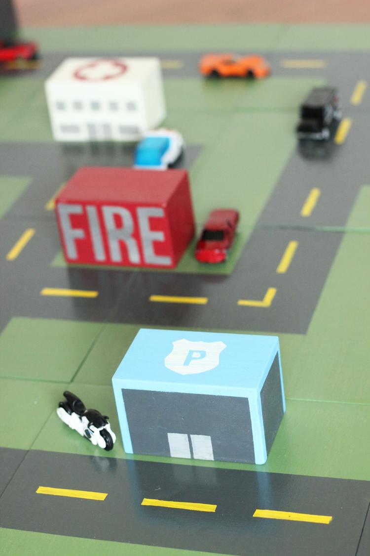 DIY Car Mat Puzzle