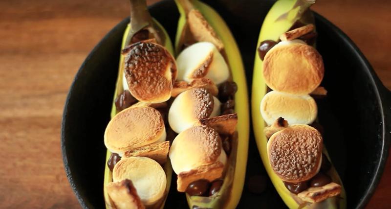 Banana S'mores Recipe