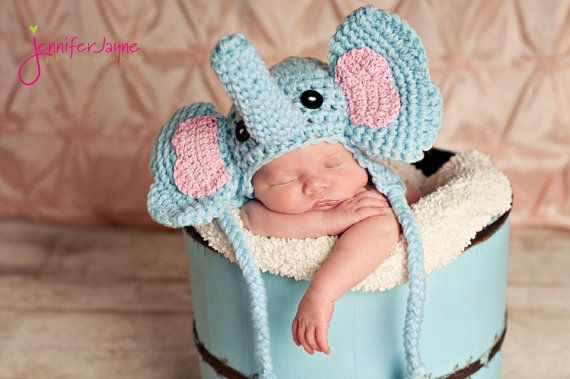Free Elephant Crochet Hat Pattern