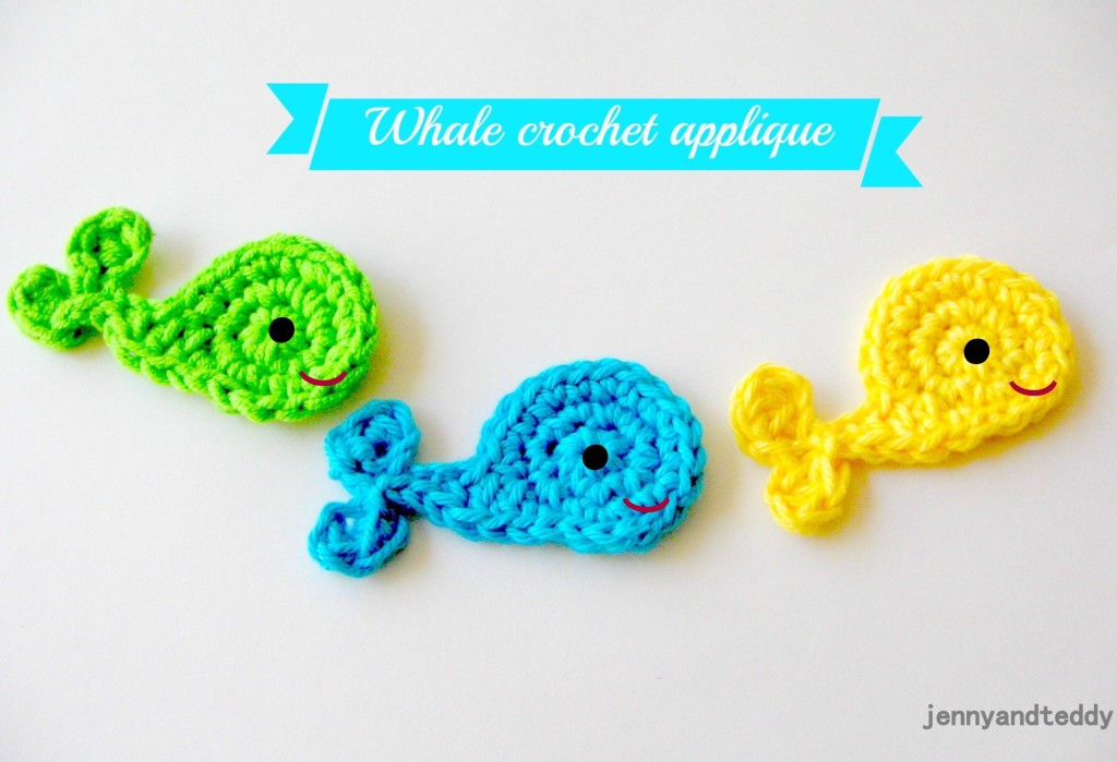 Whale Crochet Pattern - free tutorial