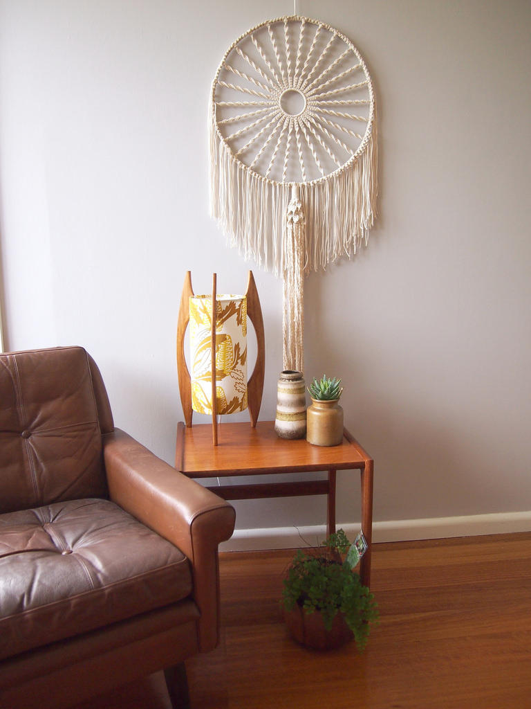 Dream Catcher macrame tutorial