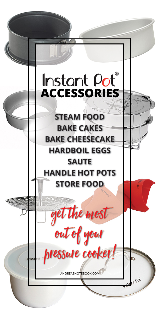 Accessories you'll want to buy for your Instant Pot!