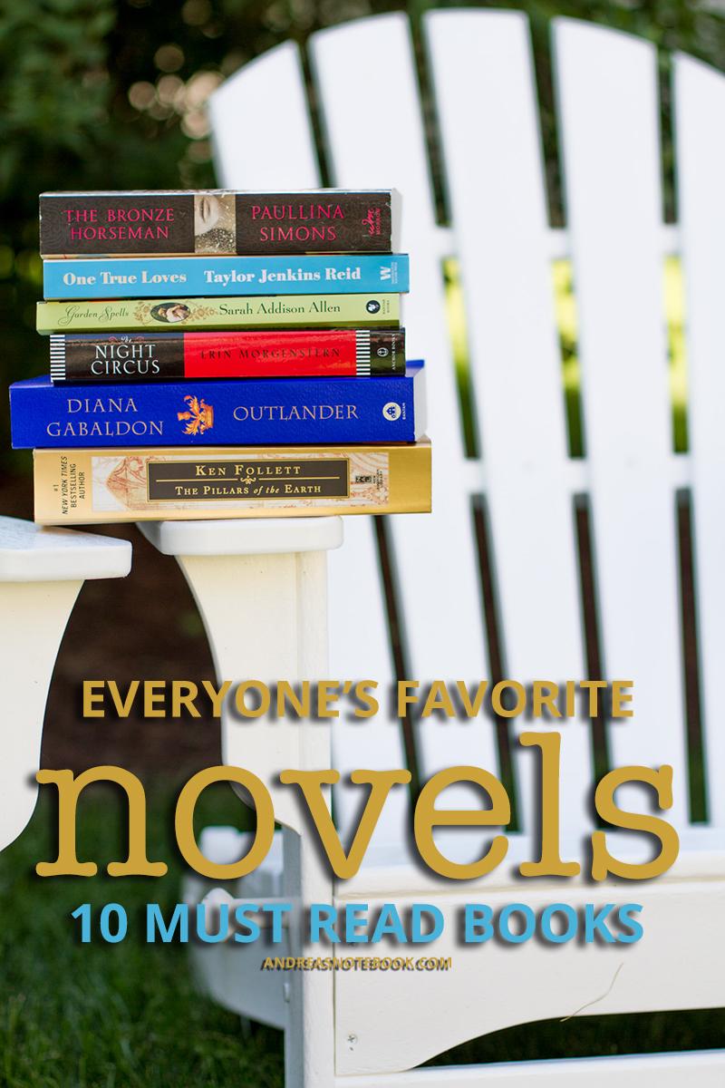 Everyone's Top 10 Favorite Novels