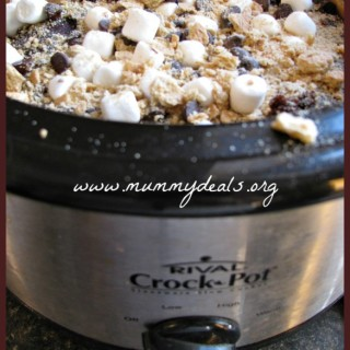 Crock Pot S'mores Cake